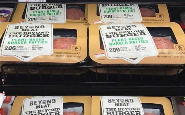 Beyond Meat set to launch its plant-based burger in the UK