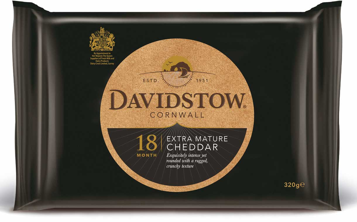Dairy Crest gives its Davidstow cheese a packaging refresh