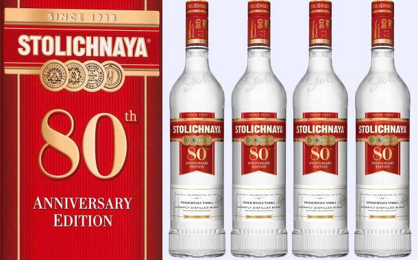 Stoli releases 80th anniversary vodka with traditional recipe
