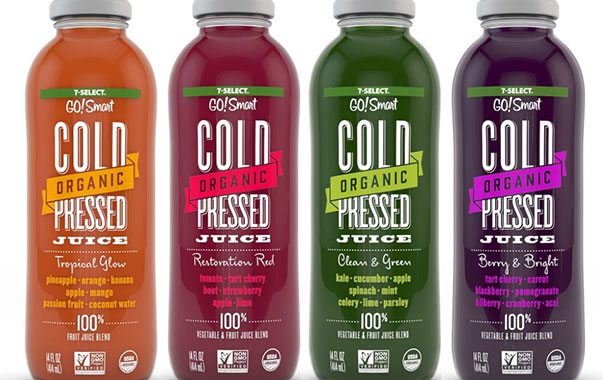 7-Eleven unveils own-brand line of organic, cold-pressed juices