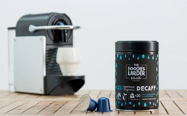The Foodies Larder creates biodegradable decaf capsules