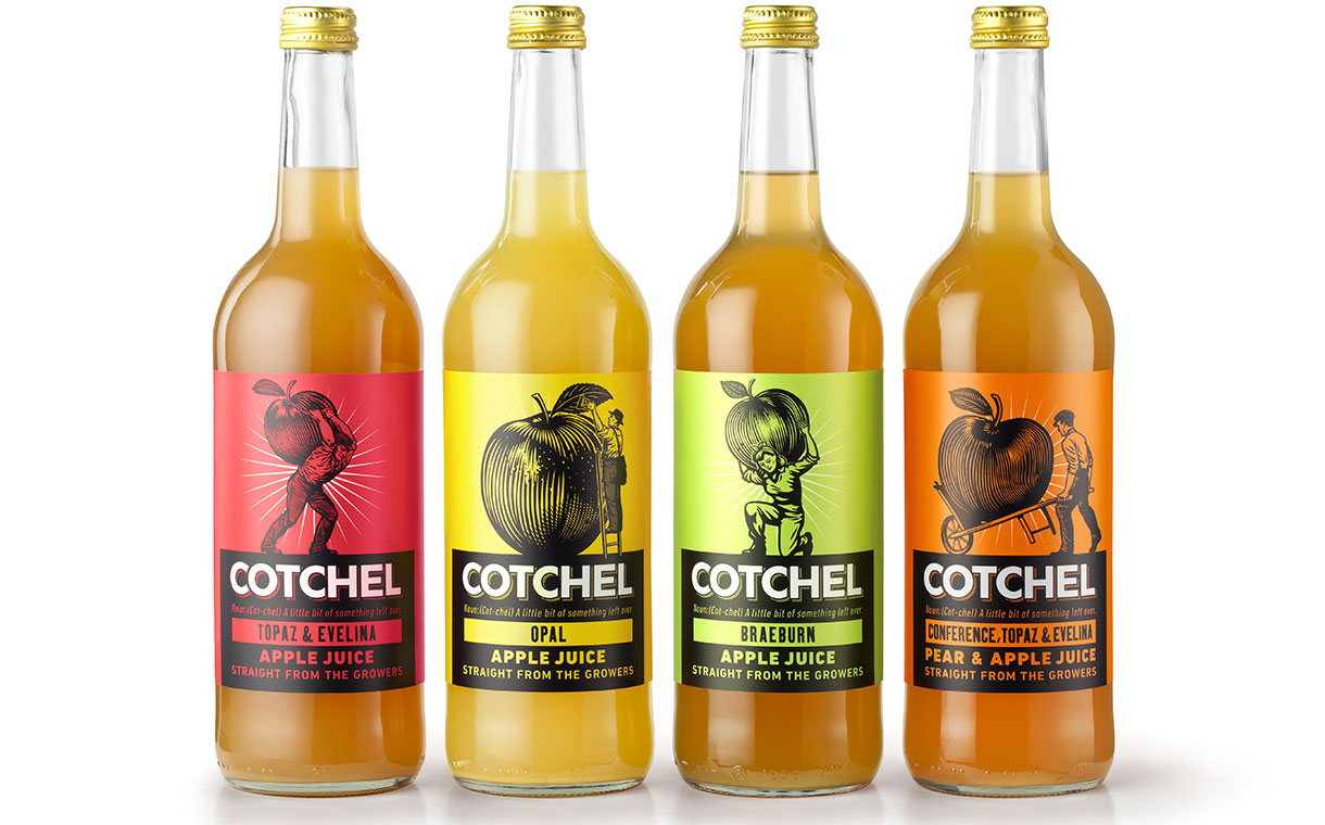 Cotchel unveils four-strong juice range made with unwanted fruit