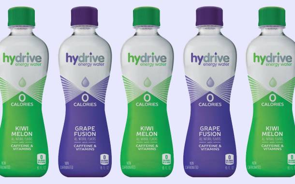 Hydrive Energy Water adds new flavours to its caffeine drink line