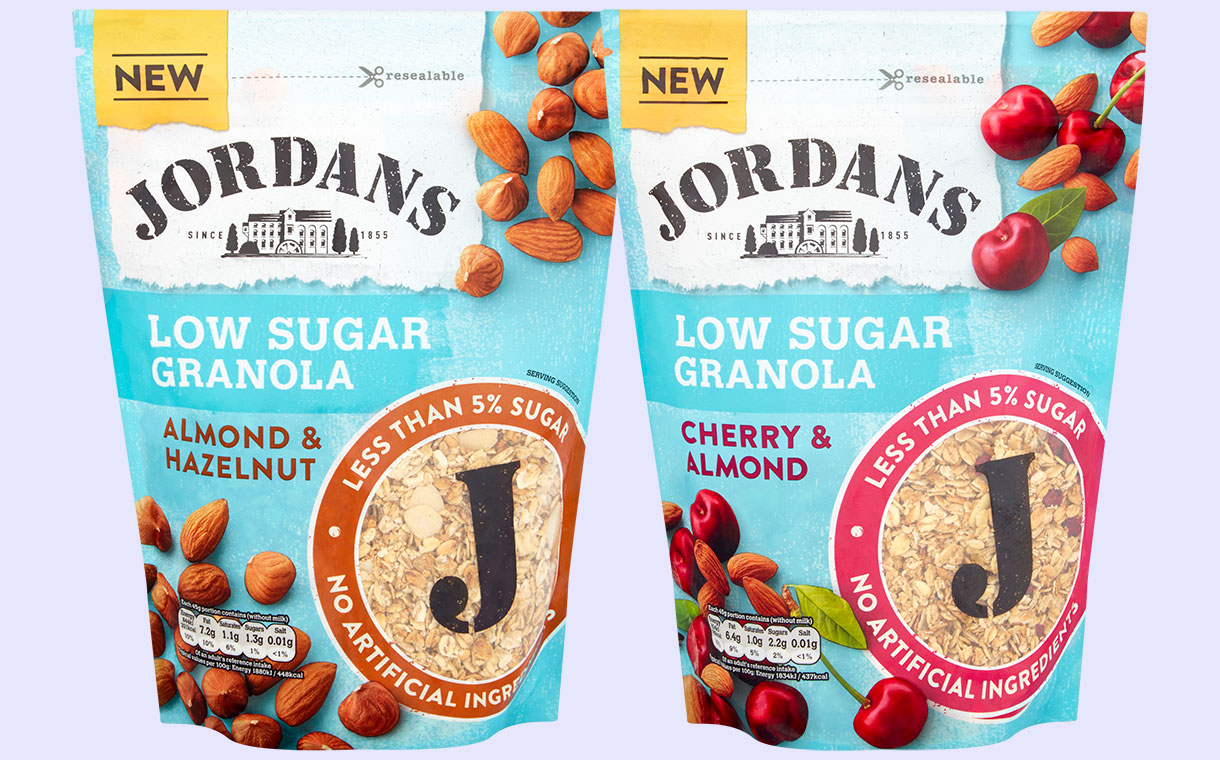 93838b1cd613c4 Associated British Foods unveils two low-sugar Jordans granolas ...