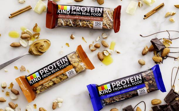 Snack bar maker Kind releases its first protein bar range