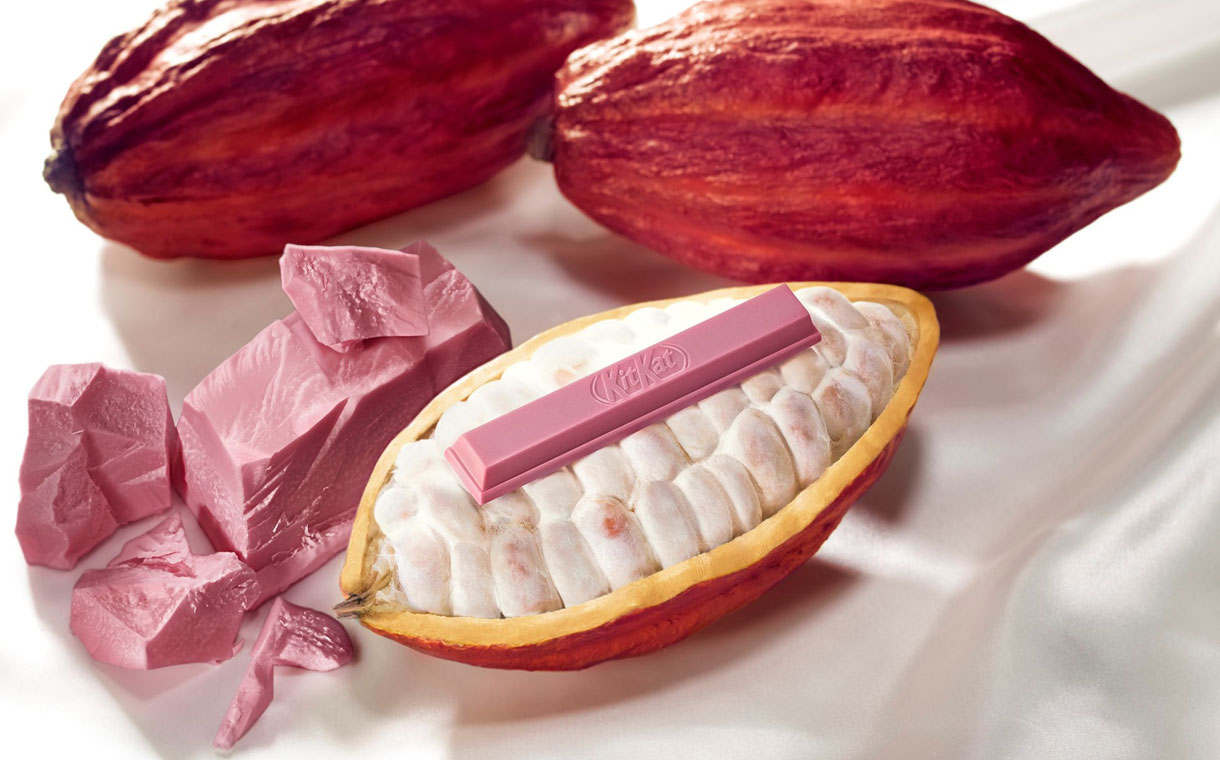 Nestlé becomes the first brand to sell a ruby chocolate product