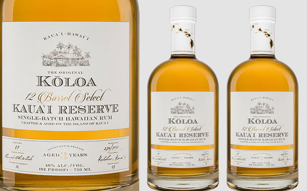 Koloa Rum introduces 'smooth and complex' Kauai Reserve rum