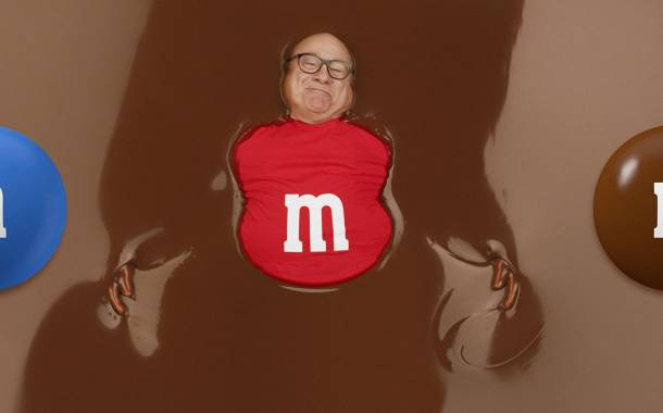 Mars partners with Danny DeVito for M&M's Super Bowl advert