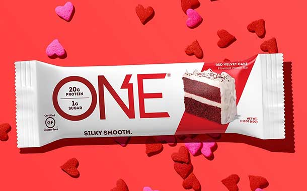 One Brands introduces high-protein red velvet cake bar