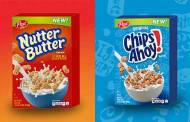 Chips Ahoy! And Nutter Butter cookie cereals make their debut