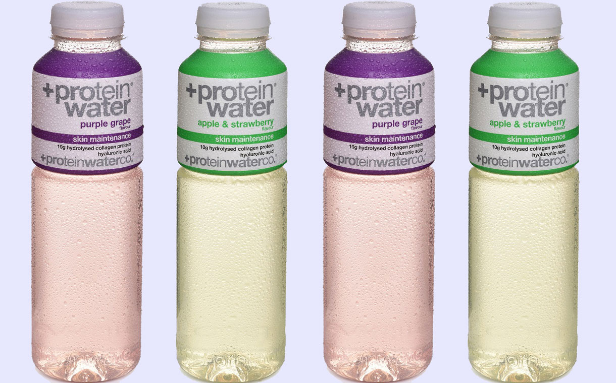 Protein Water Co launches Skin Maintenance collagen water line