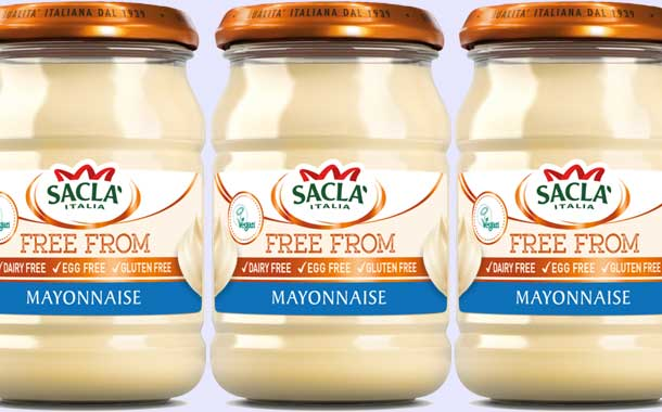 Sacla targets vegan consumers with new free from mayonnaise