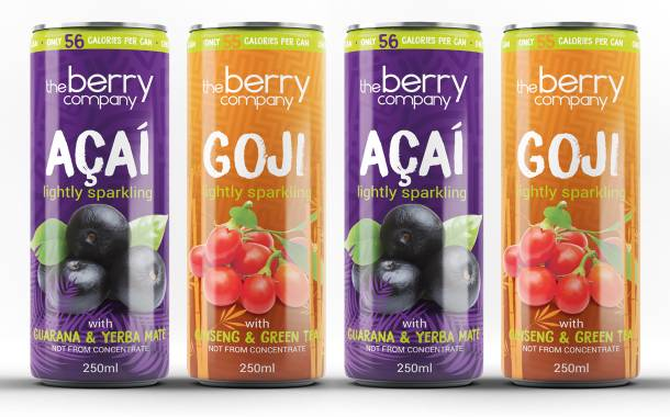 Berry Company debuts goji and açaí-flavoured sparkling drinks