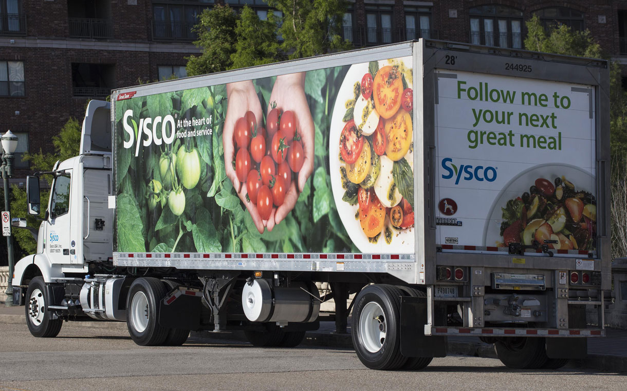 Sysco aims to source 20% of its energy from renewable sources