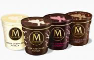 Magnum releases ice cream tubs featuring a chocolate shell