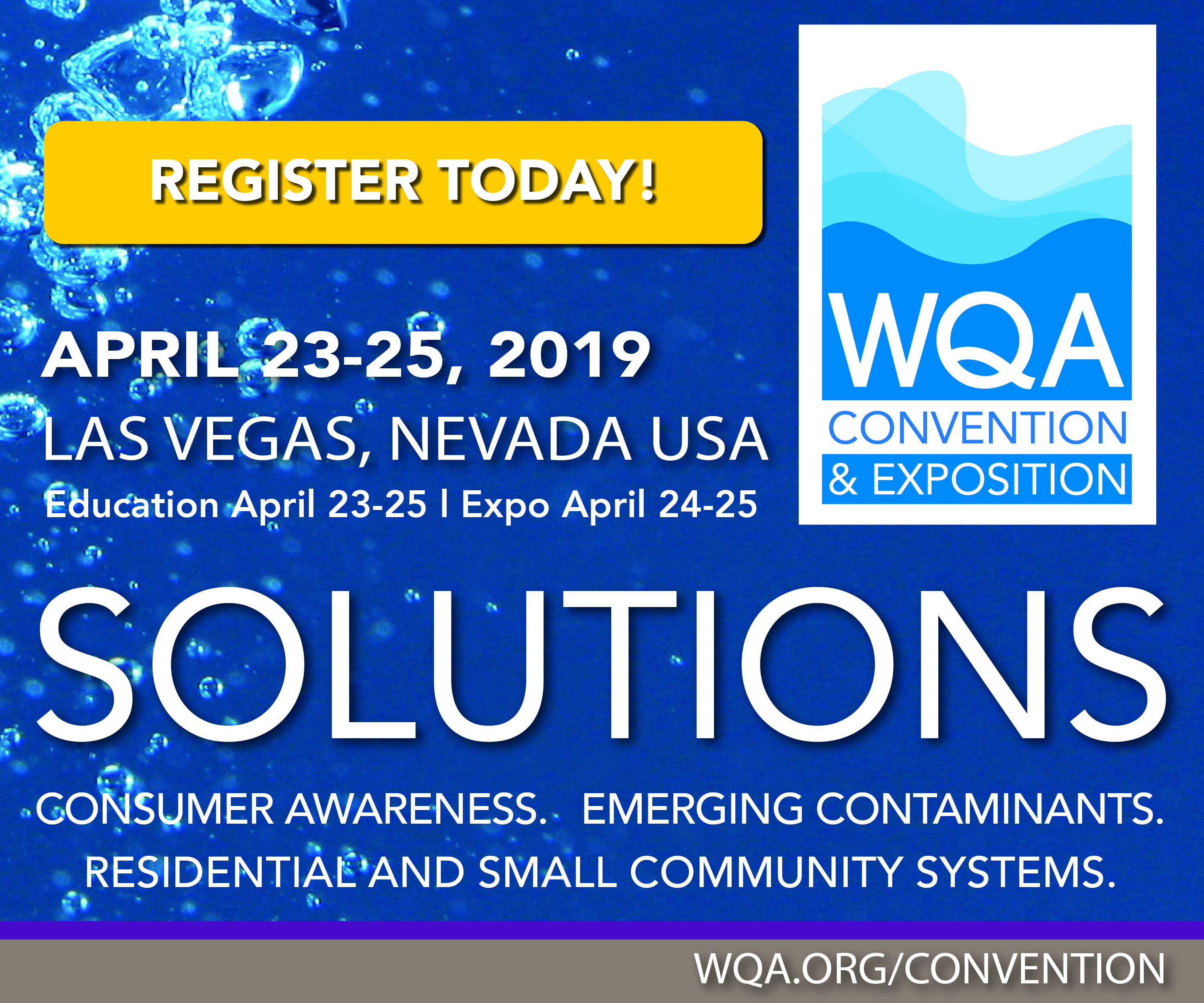 WQA Convention & Exposition - Food and Beverage Industry Events