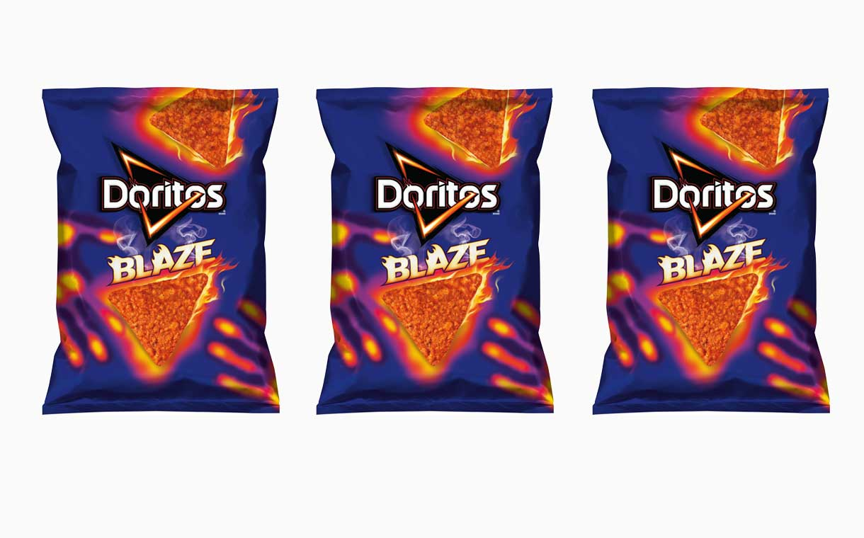 Frito-Lay releases a fiery new flavour of Doritos in the US