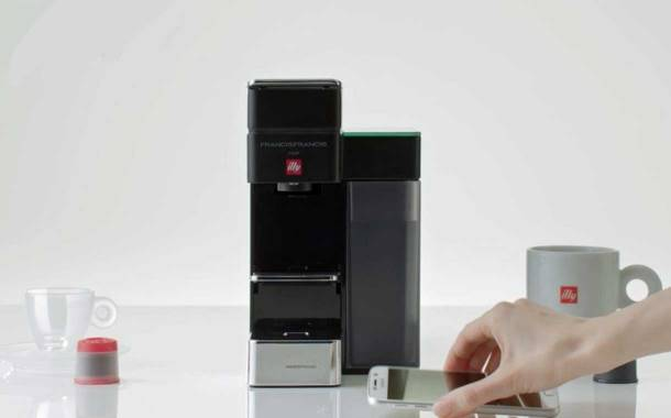 illy manufactures a self-ordering coffee machine