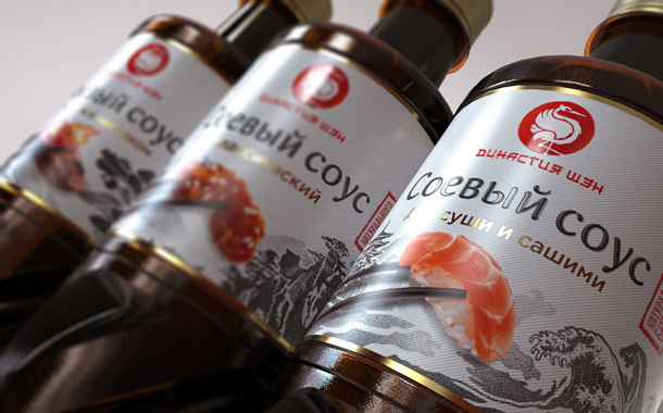 Russian soy sauce brand targets Asian imports in latest redesign