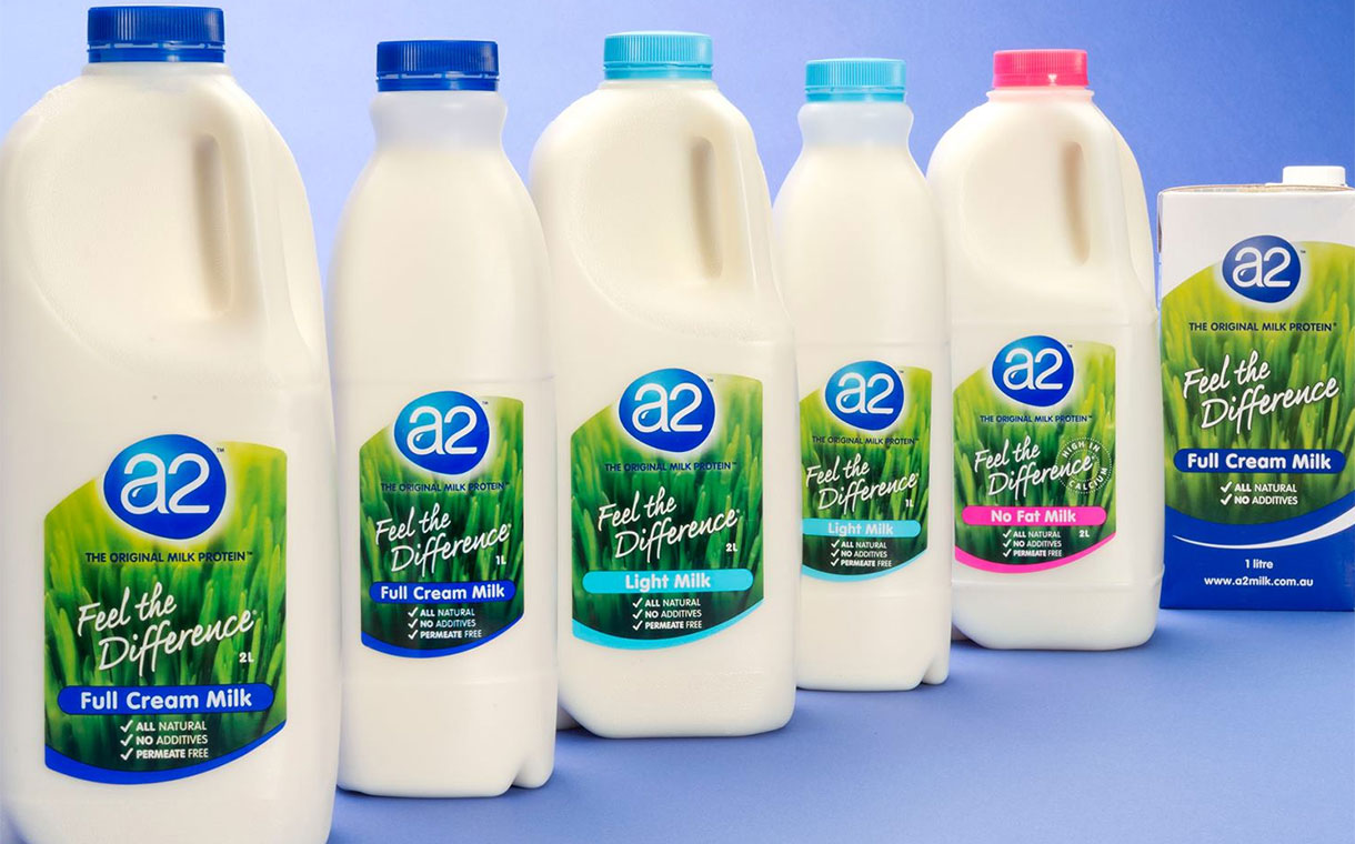 A2 Milk boosted by performance in China as profit increases 47%