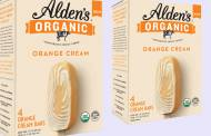 Alden's Organic introduces orange-flavoured ice cream bars