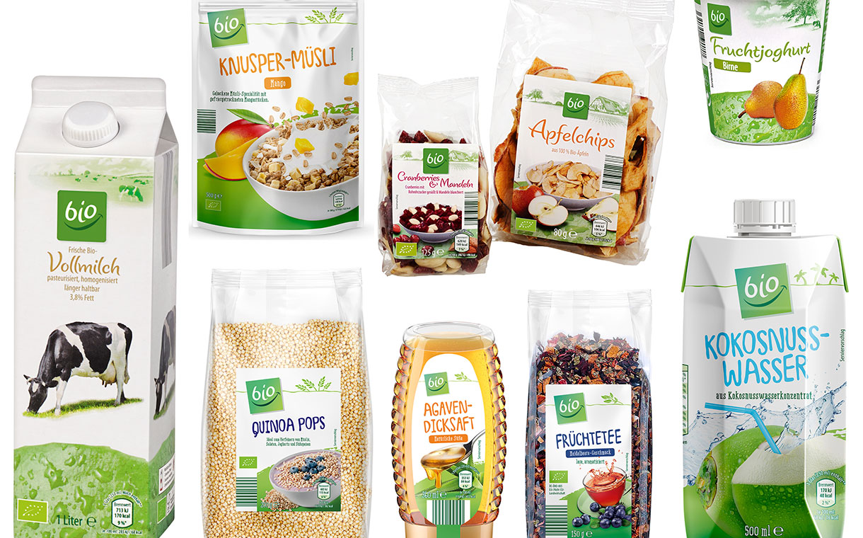 Aldi launches more than 60 new organic products in Germany - FoodBev