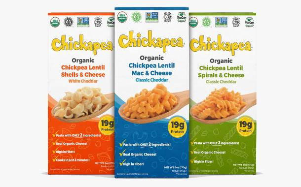Chickapea releases vegetarian pulse-based mac and cheese