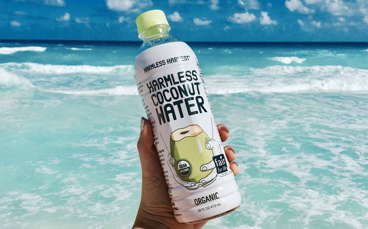 Danone leads funding in coconut water brand Harmless Harvest