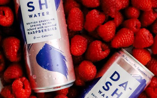 Dash Water kicks off campaign with new raspberry-infused drink