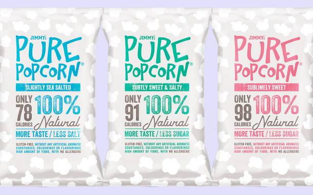 Jimmy's expands Pure Popcorn portfolio with new impulse bags