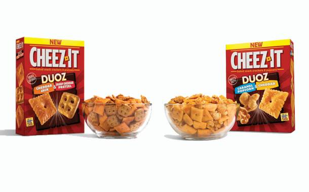 Kellogg's expands Cheez-It Duoz range with two new varieties