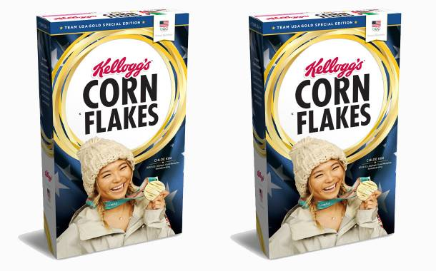 Kellogg's celebrates Olympic gold with 'Gold Edition' corn flakes