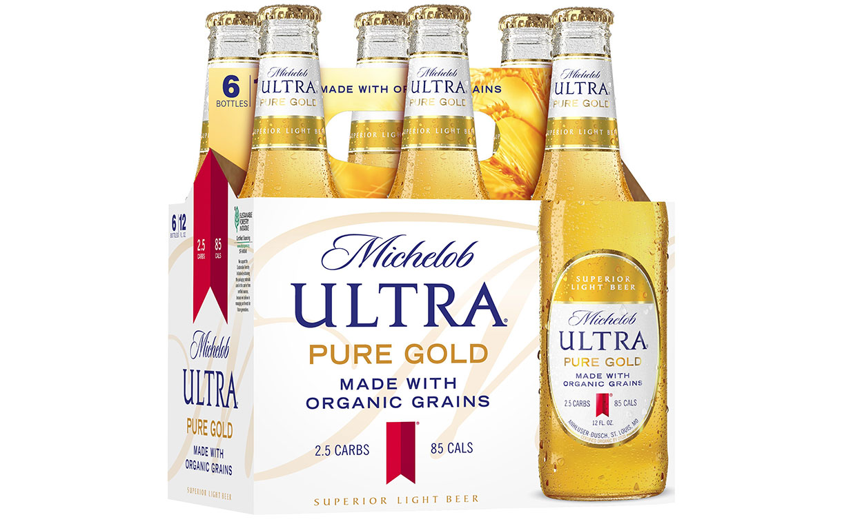Ab Inbev Expands Michelob Ultra Portfolio With Pure Gold Beer