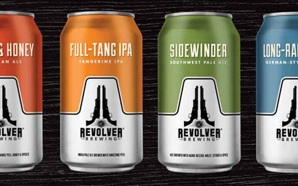 MillerCoors-owned Revolver introduces canned beer range