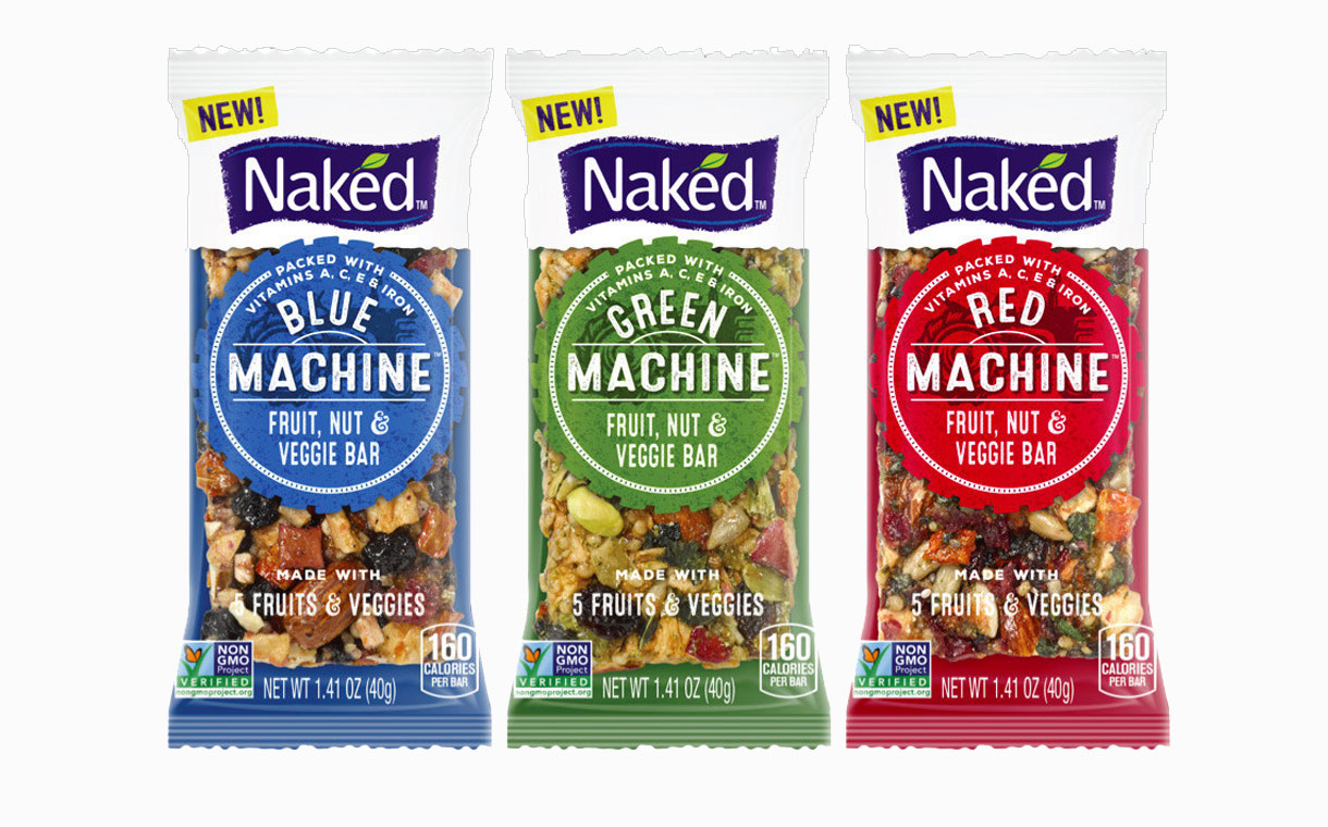 PepsiCo's Naked Juice releases its first range of snack bars
