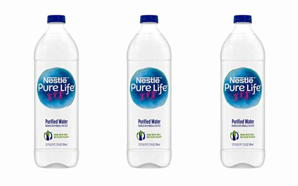 Nestlé Pure Life to launch a 100% rPET water bottle in the US