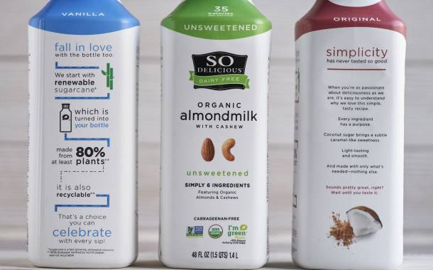 So Delicious unveils almond milk featuring a plant-based bottle