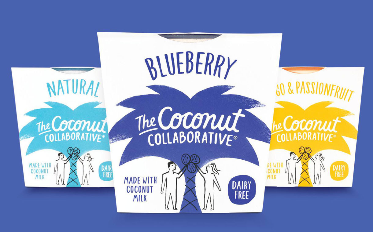 Coconut collaborative yogurt