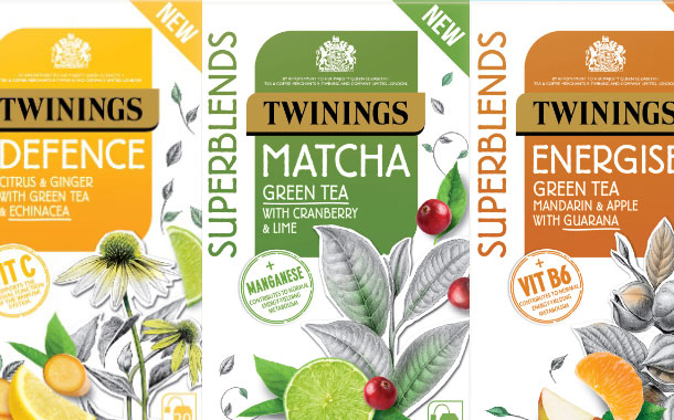Twinings unveils seven-strong range of green teas and infusions