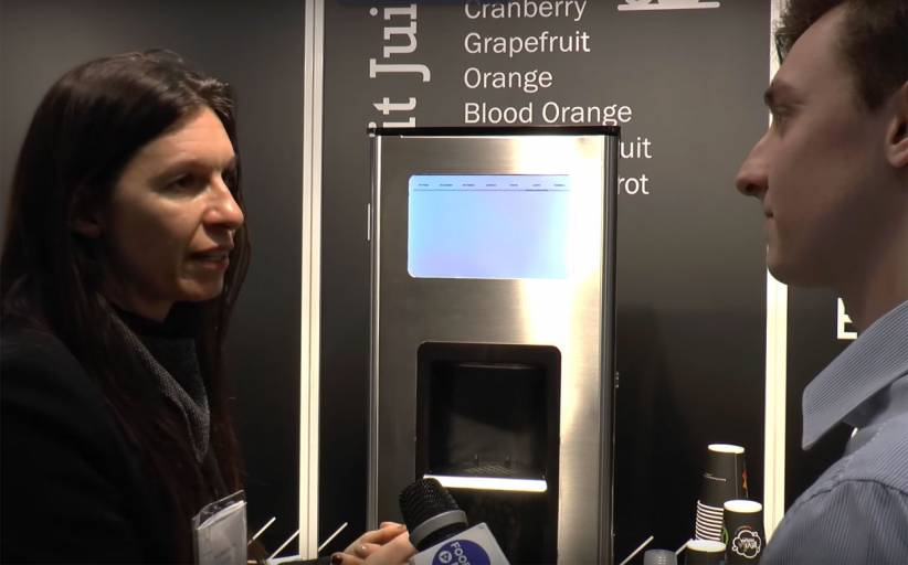 Video: BeviLaNatura unveils its new hot and cold drink dispenser