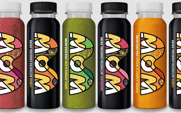 Functional beverage brand Wow unveils bold new pack design