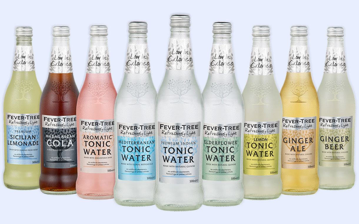 Fever Tree Unveils Refreshingly Light Range Of Low Calorie Mixers