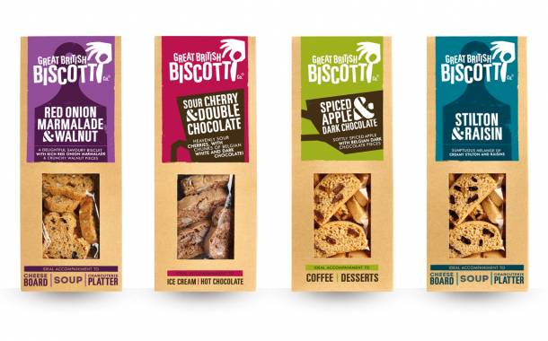 Great British Biscotti debuts two new savoury and sweet options