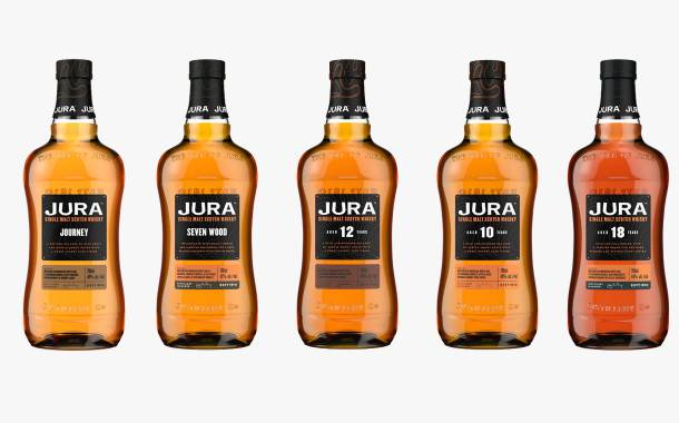 Jura unveils five new whiskies as part of new Signature Series