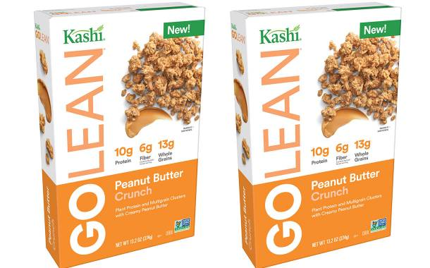 Kellogg-owned Kashi launches peanut butter crunch cereal