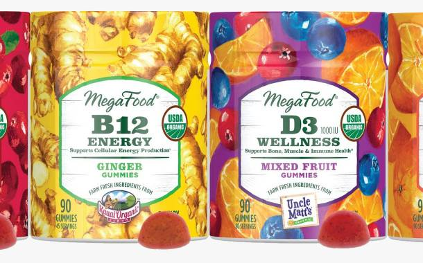 MegaFood launches vitamin gummy range featuring four flavours