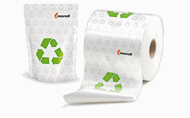 Mondi creates new fully-recyclable packaging material