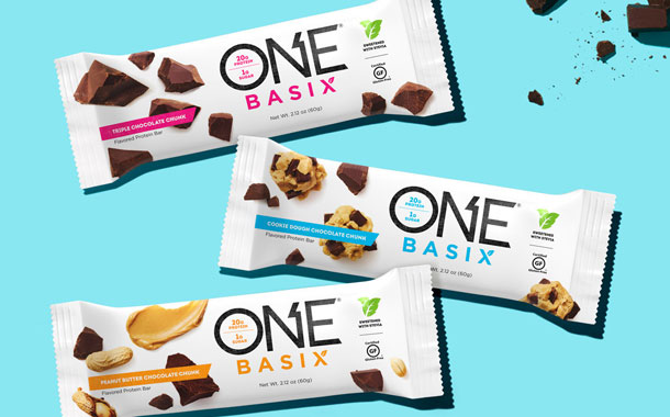 One Brands unveils new range of naturally sweetened protein bars