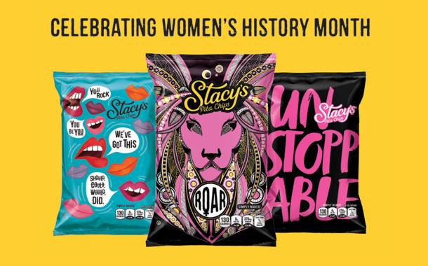 PepsiCo supports gender equality with Stacy's Pita Chips redesign