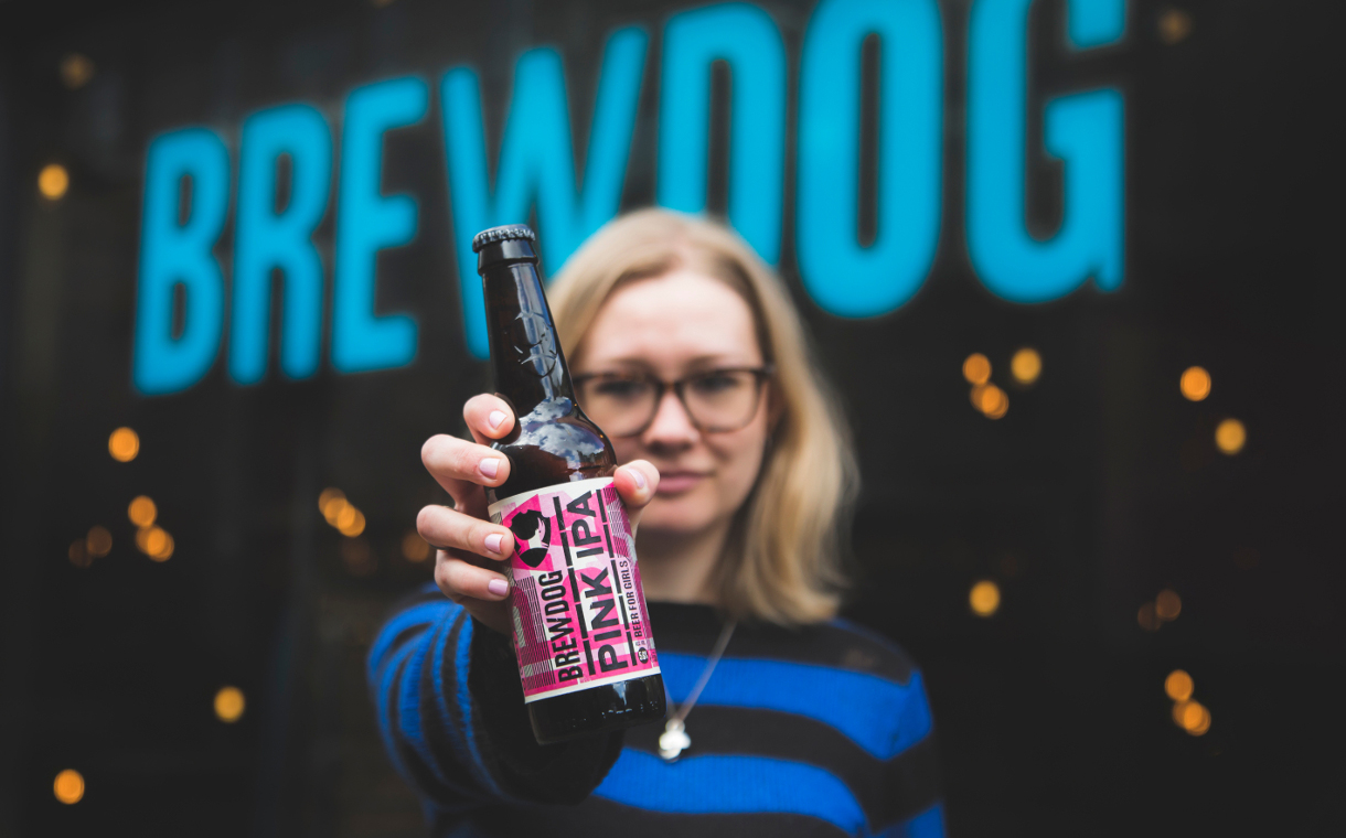 'BrewDog's Pink IPA shows how futile it is to advertise by gender'